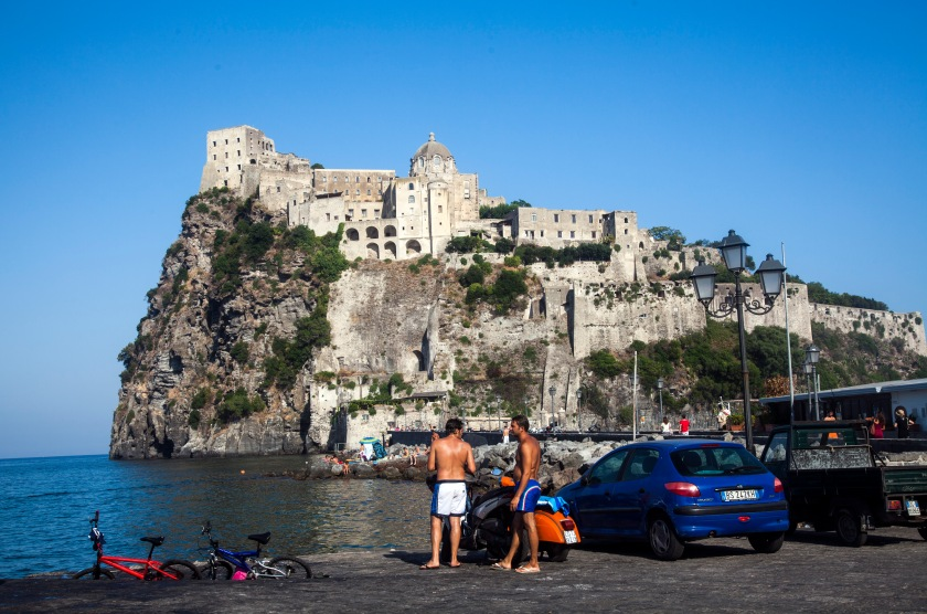 Ischia Porto - Castello Aragonese